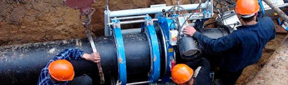 Строительство внешнего газопровода